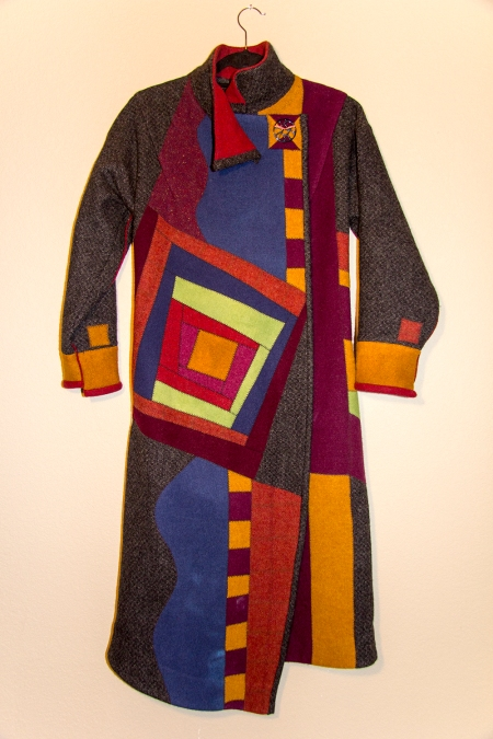 Log Cabin Heart Felt Coat- Front_wf