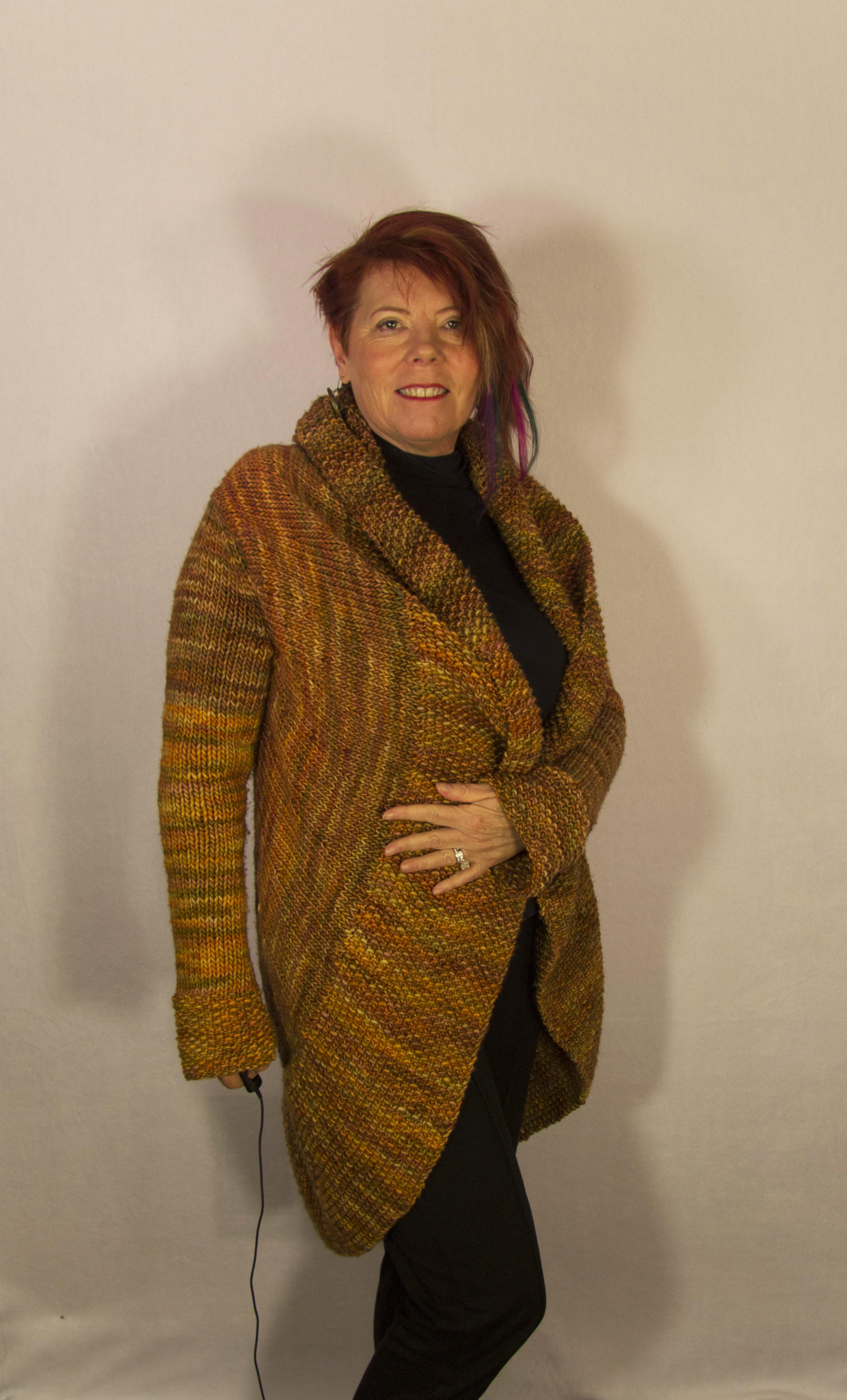Warm Circle Sweater to Celebrate 2014!   West Zen Studio
