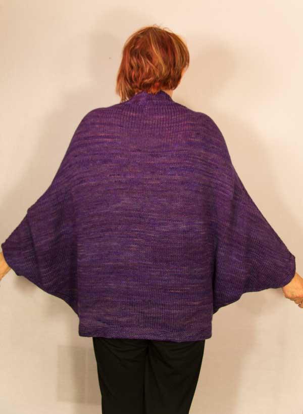 Easy Batwing Jumper Knitting Pattern : March 2014 West Zen Studio