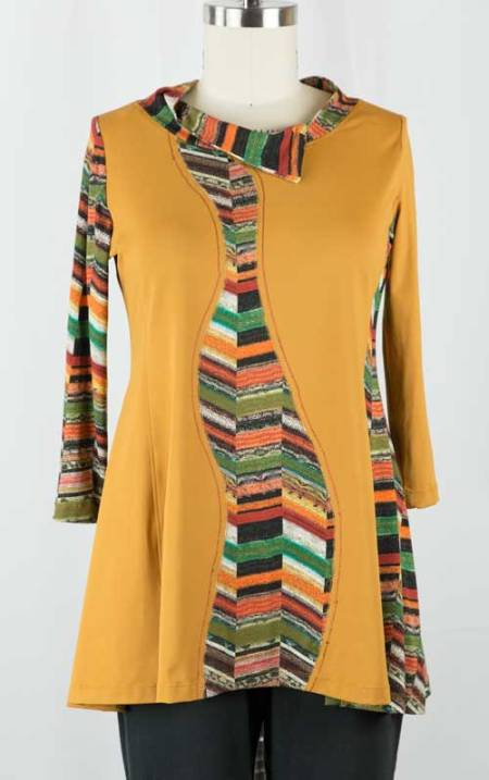 Mustard-Tunic-Front